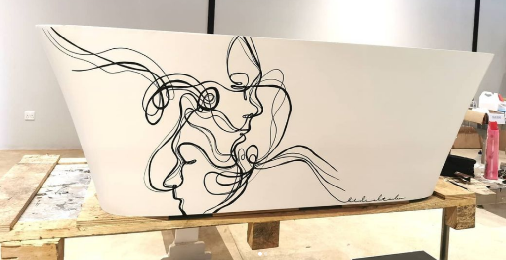 Hilde Alet Malan – Avant-garde concept bathroom design